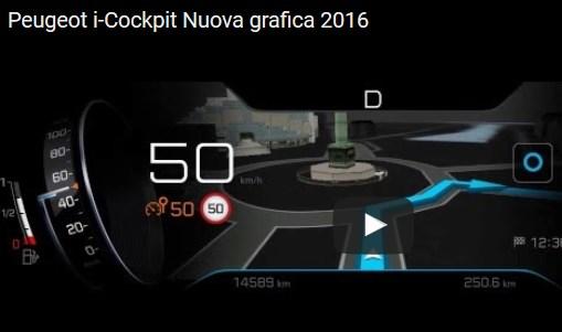 Peugot i-cockpit 2016